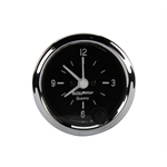 Auto Meter 201019 Cobra 2 Inch Clock, 12 Volt
