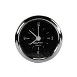 Auto Meter 201019 Cobra 2 Inch Clock, 12 Volt