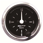 Auto Meter 201019 Cobra Quartz Clock Gauge, 2-1/16 Inch, Analog
