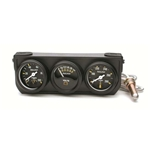 Auto Meter 2396 Auto Gage 3 Gauge Console, Oil/Volt/Water