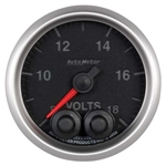 Auto Meter 5683 Elite Digital Stepper Motor Voltmeter Gauge, 2-1/16 In