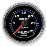 Auto Meter 6186 Cobalt Digital Stepper Motor Fuel Rail Pressure Gauge