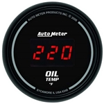 Auto Meter 6348 Sport-Comp Digital Digital Oil Temperature Gauge