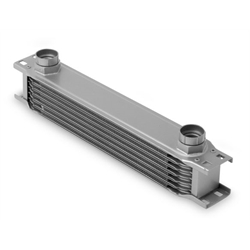 Earls 40700ERL 7 Row Oil Cooler Core, Gray
