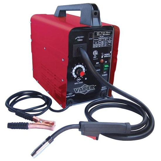 Titan tools 41185 90 amp gasless wire feed welder ebay for Lincoln welder wire feed motor