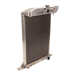 Griffin 7-70086 Deluxe Alum Radiator for 38 Deluxe Ford Chassis w/Small Block Chevy