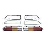 Reproduction Tail Light Lenses for 1978-81 Camaro
