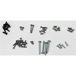66-67 Nova Interior Screw Kit, 2 Door, 45 Screws