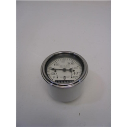 Garage Sale - Stewart Warner Individual Electric Speedometer, White Face