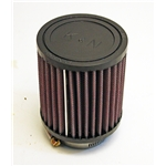 Garage Sale - K&N 4 Inch Single Type Injector Stack Air Filter, 2-1/8 Inch