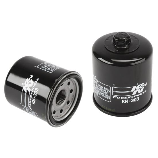 K&N Filters KN-303 Mini Sprint Racing Oil Filter, Yamaha