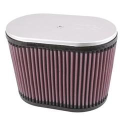 K&N RD-4600 Air Filter, 6.25in Tall, Oval