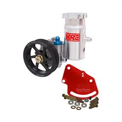 KRC 28020115 Alum SBC Pump Kit, Serpentine, Block Mount, Bolt-On Tank