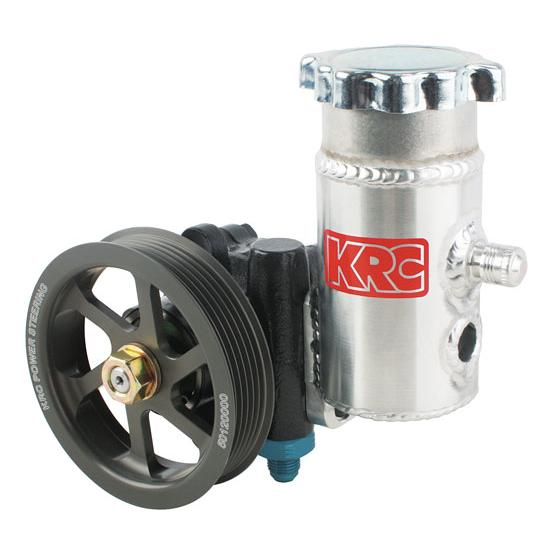 KRC 50020100 Cast Iron Power Steering Pump with Serpentine Pulley