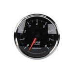 Auto Meter 1296 Designer Black II Tachometer