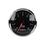 Auto Meter 1296 Designer Black II Tachometer
