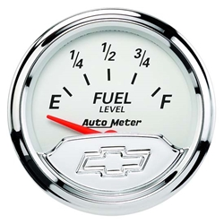 Auto Meter 1317-00408 Chevy Vintage Air-Core Fuel Level Gauge