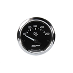Auto Meter 201018 Cobra Air-Core Oil Temperature Gauge, 2-1/16 Inch
