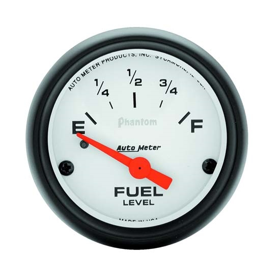 Auto Meter 5717 Phantom Air-Core Electric Fuel Level Gauge, 2-1/16 In.