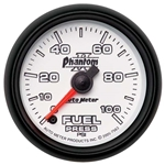 Auto Meter 7563 Phantom II Digital Stepper Motor Fuel Pressure Gauge