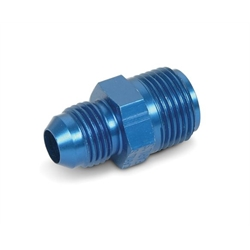 Earls 991950ERL -6 AN Male to 11/16-18 Inch IFF Male Adapter, Blue