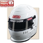 Simpson Shark Wicker Racing Helmet SA10/SA 2010, Black 7-3/8
