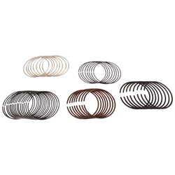 Total Seal Style E Conventional Style Piston Rings, .035 OS, 1.5/3mm
