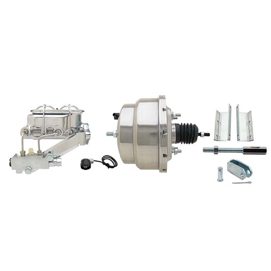 55-57 Fullsize Chevy Brake Booster Conversion Kit, 1 In Bore, SS