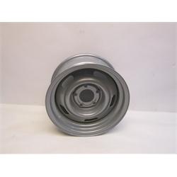 Garage Sale - Speedway GM Style 15 Inch Rally Wheel, 5 on 5 Inch Bolt Pattern, Silver, 15X7