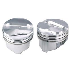 KB Chevy 383 Hypereutectic Pistons, .100 Dome, 5.7 Rod