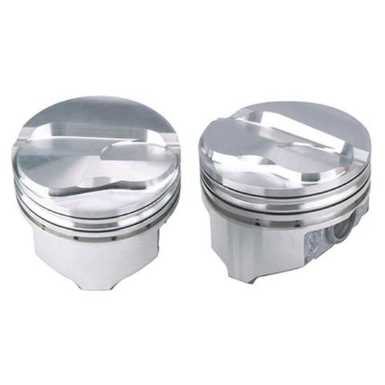 KB Chevy 377/400 Hypereutectic Pistons, Flat Top, 5.7/5.565 Rod