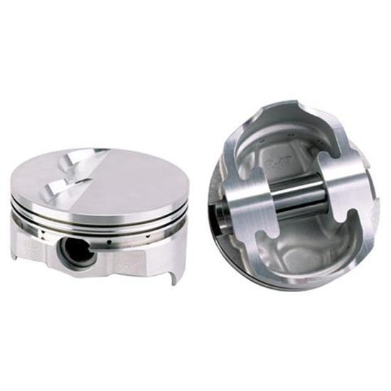 Icon Chevy 383 Forged Pistons, Flat Top, 6.0 Rod