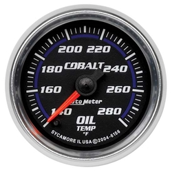 Auto Meter 6156 Cobalt Digital Stepper Motor Oil Temperature Gauge
