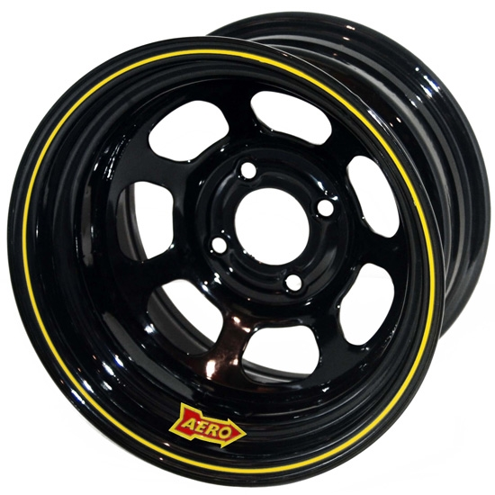 Aero 30-174520 30 Series 13x7 Inch Wheel, 4 on 4-1/2 BP, 2 Inch BS