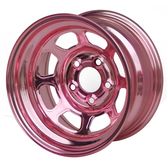 Aero 56985020LPIN 56 Series 15x8 Wheel, Spun, 5 on 5 BP, 2 Inch BS LH
