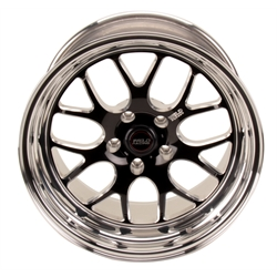 Weld Racing 77HB-8100B56A 18 In. RT-S77 Rear Wheel Chevy G-Comp Nova