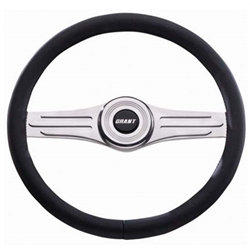 Grant 15871 Heritage Collection Deluxe Steering Wheel, 14-3/4, Black