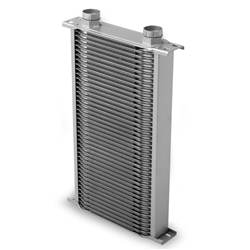 Earls 24200ERL 42 Row Oil Cooler Core, Gray