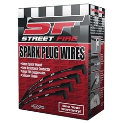 MSD 5543 Street-Fire Spark Plug Wires Set, Ford 289-302 Socket