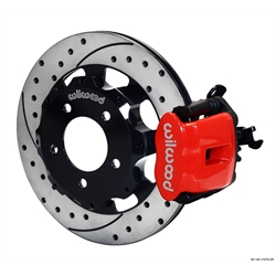 Wilwood 140-11979-DR CPB Rear Brake Kit, 2006-Up Civic / CRZ