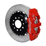 Wilwood 140-13698-R AERO4 14.25 Inch Rear Brake Kit, 2014-Up C7 Corvette