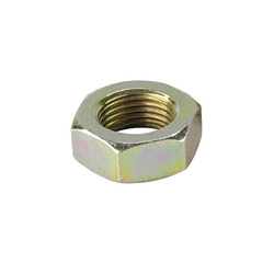 Plain Steel Jam Nut, 11/16-18 LH