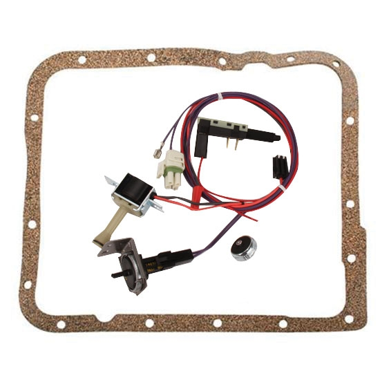 Painless Wiring 60109 700R4 Transmission Torque Converter Lock Up Kit 2362 on wiring a non computer 700r4