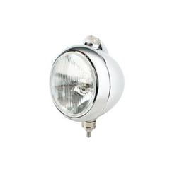 Guide 682-C Style Headlight, Chrome
