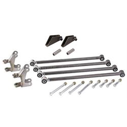 1932-34 Ford Front Four-Bar Kit, Plain Steel
