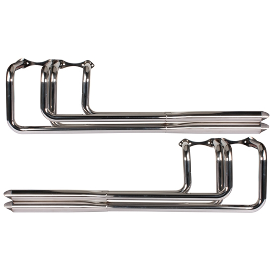 Polished Stainless Steel Shotgun Headers