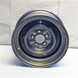 Garage Sale - O/E Style Hot Rod Steel Wheel, Raw Finish, 15 x 7, 5 ...