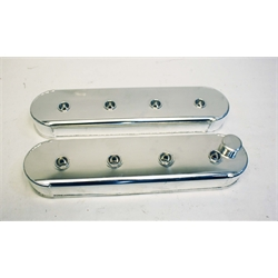Garage Sale - Fabricated Aluminum LS/Vortec Valve Covers w/o Coil Stands, Polished