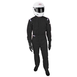 Garage Sale - Sparco Jade One Piece Three Layer Racing Suit, Black, Size XL