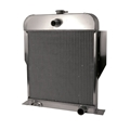 AFCO 1949-53 Ford Aluminum Radiator, Chevy Engine